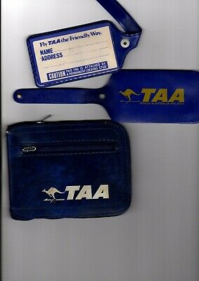 Australia TAA Baggage tags and carry bag