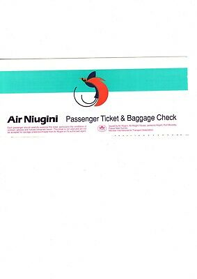 Air Niugini flight ticket