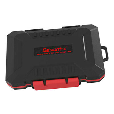 Water-resistant Camera Battery Boxes Holder Container Plastic for Canon