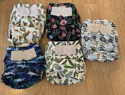 Lot Of Thirsties Naio Cloth Diapers
