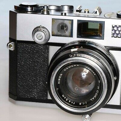 Aires 35-IIIs 35mm rangefinder camera, Leica-style classic from Japan'