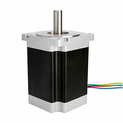 【EU FREE】1PC Nema34 stepper motor 34HS1456-X1-50 5.6A 4wires 116mm 1025N.cm CNC