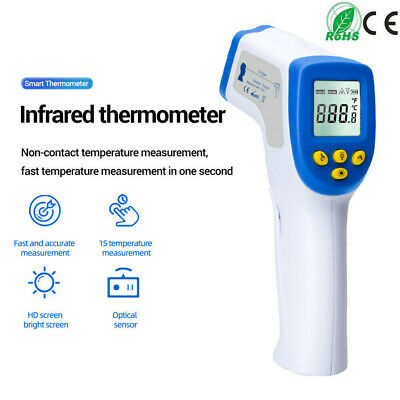 Baby Kids Forehead Body Thermometer Digital IR Infrared Termometer Non-Contact Q