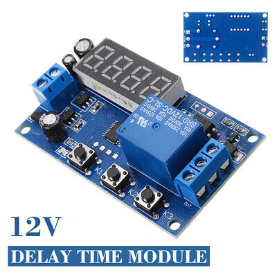 DC12V Multifunction Delay Timing Time Module Switch Control Relay Cycle Timer