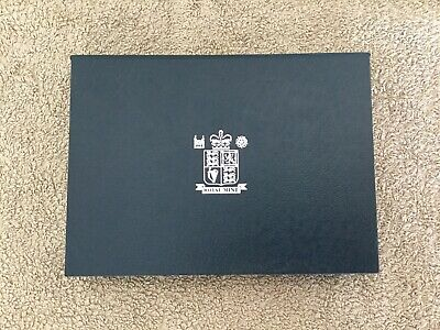 1998 Royal Mint Proof Coin Collection Year Set Blue Case EU 50p Prince Charles