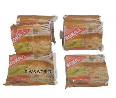 Koka Instant Noodles Chicken Flavour Oriental Noodle Pack Of 6 x 85g Brand New
