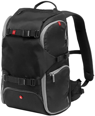 Manfrotto MB MA-BP-TRV Advanced Travel Backpack Camera Photo - Black