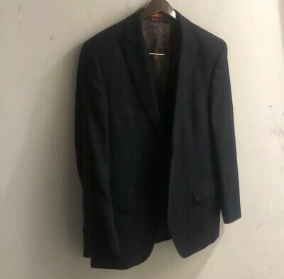 Tallia  Two Button Sports Coat Size 40 R Vest Included