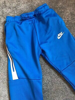 Kids Nike Tech Fleece Icon Joggers Small Age 8-10 Years VGC Boys Track Pants