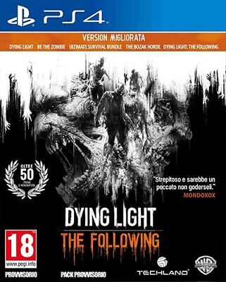 Dying Light The Following  Enhanced Edition  -  PS4  ITA