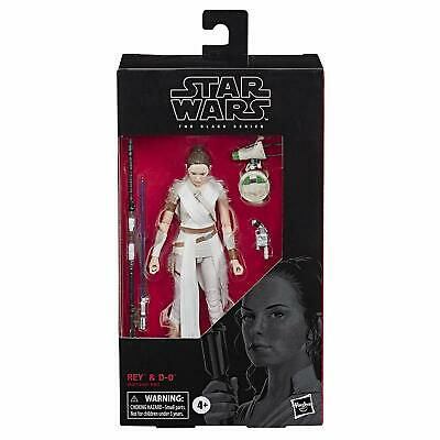 "Star Wars Rise of Skywalker The Black Series Rey & D-O 6"" Scale Action Figure"