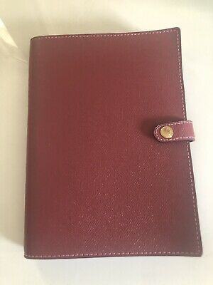 Coach Notebook with Signature Canvas Details in  ROUGE