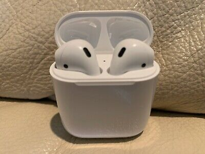 Genuine Apple AirPods 2nd Generation (Left airpod with Charging Case) - White