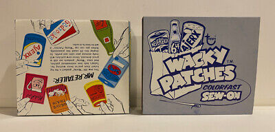 1974 Topps Wacky Packages Patches Sew-On Complete Box - Mib Unused