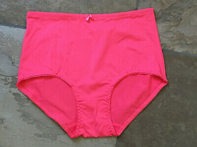 Unbranded Silky Smooth Coral Size XL Brief Nylon Blend Panties NWOT
