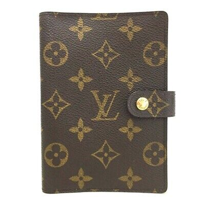 100% Authentic Louis Vuitton Monogram Agenda PM Notebook Cover /o471