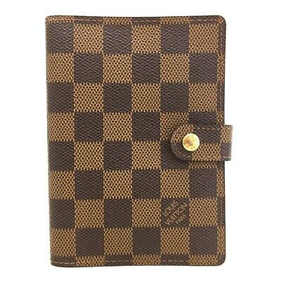 100% Authentic Louis Vuitton Damier Agenda PM Notebook Cover /o500