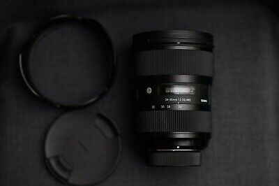 Sigma lens 24-35mm f2 for nikon mount, mint condition with box!