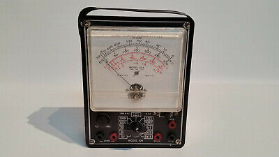 Vintage 1930's Electronic Measurements Corp. Meter Model 104 Volt Ohms Meter