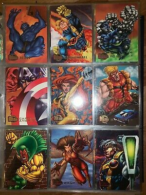 Onslaught - Marvel Ultra Trading Cards - Incomplete Set