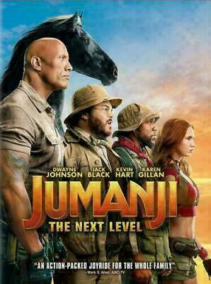 Jumanji The Next Level NEW DVD 2019 * ACTION ADVENTURE * Brand New Shipping Now!