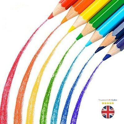 22 Premium Quality Colouring Pencils Colours Artists Drawing Kids Adults Learn