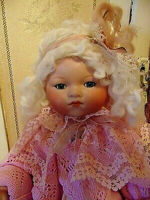 Beautiful Vintage Bisque Doll Vintage Clothes