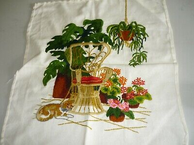 Completed - Embroidery Cloth