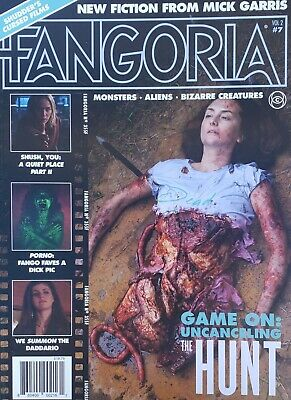 Fangoria Magazine Vol2 #7 Game On: No Mailing Labels