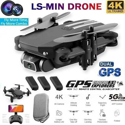 Drone Foldable Quadcopter WIFI FPV 480P 1080P 4K Wide-Angle HD Camera Gifts New