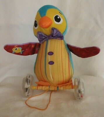 Lamaze Pull Along WALTER The WADDLING PENGUIN With Rattling Wheels