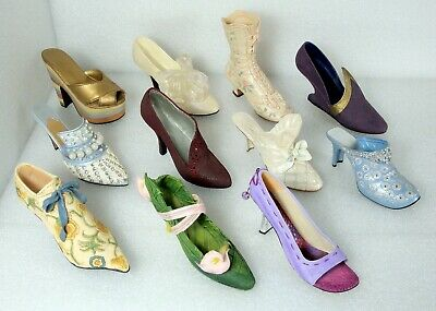 Just The Right Shoe x11 Miniature Shoes Collectibles - Raine / Willitts Designs
