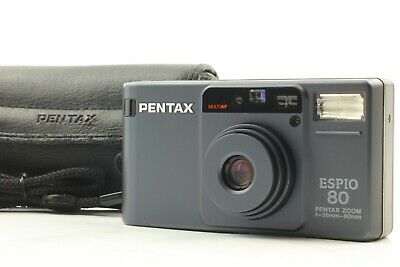 *MINT IN CASE* PENTAX ESPIO 80 ZOOM AF Point & Shoot 35mm Film Camera From JAPAN