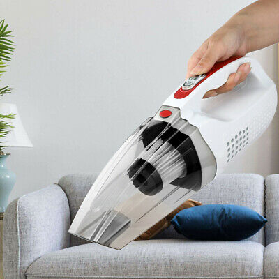 HEPA Filter Handheld 120W Cordless Car Vacuum Cleaner Cleaning Home Office