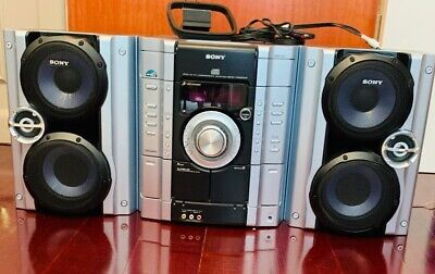 Sony MHC-RG222 Hifi Stereo System - Amp Speakers CD Player, Tape Deck, Radio Aux