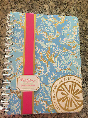 NWT Lilly Pulitzer Mini Spiral Bound Notebook.  Turtely Awesome! Retails for $12