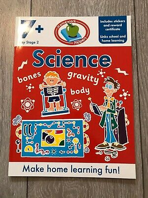 KS2 Science Learning Workbook Home Learning Age 7+ English Maths Fun Colourful