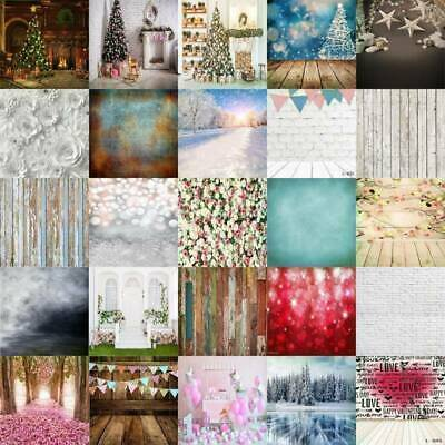 Flower/Glitter/Retro Plank Photography Background Photo Backdrop Studio Screen