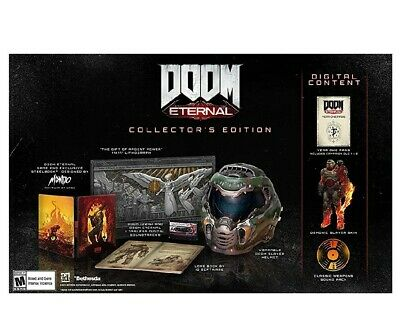 BRAND NEW Doom Eternal Collector's Edition PS4
