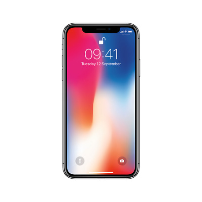 Apple iPhone X - 64GB & 256GB - Space Grey & Silver - Unlocked Smartphone