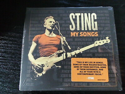 Sting - My Songs (CD Album 2019)  new and sealed