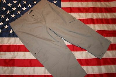 Lee Relaxed Fit Womens Gray Cargo Pants Size Plus 18 M  work slacks jeans casual