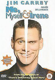 Me, Myself and Irene DVD (2001) Jim Carrey, Farrelly (DIR) cert 15 Amazing Value