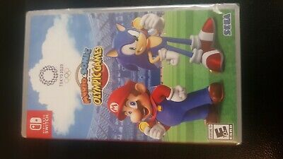 Mario & Sonic at the Olympic Games Tokyo 2020 - Nintendo Switch Sealed New