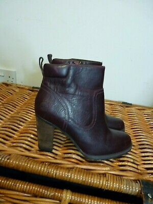 Timberland brown leather ankle boots size 6 (39)