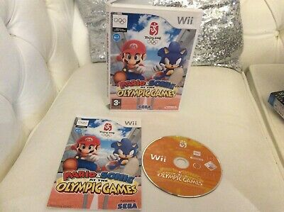 Wii Game Mario And Sonic At The Olympic Games