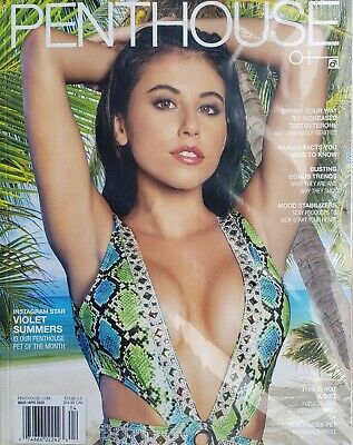 Penthouse Magazine March/April 2020 Sealed In Plastic Never Opened Brand New