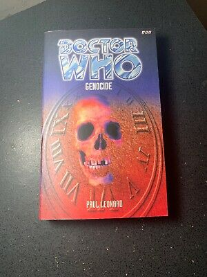 OOP Paperback Book DOCTOR WHO GENOCIDE By Paul Leonard 1997 BBC
