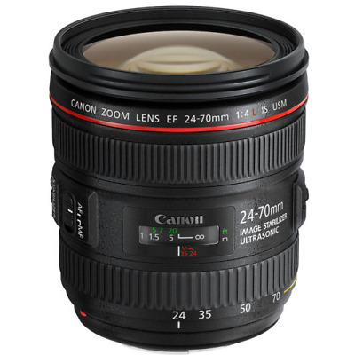 B - canon Ef 24-70mm F4 L Is USM Lentille