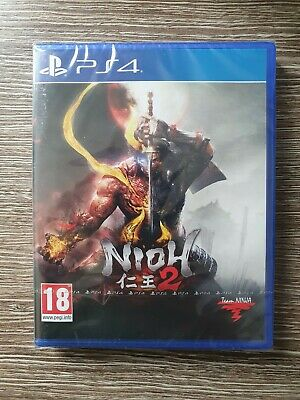 Nioh 2 -- Standard Edition (Sony PlayStation 4, 2020), Unopened from packaging.